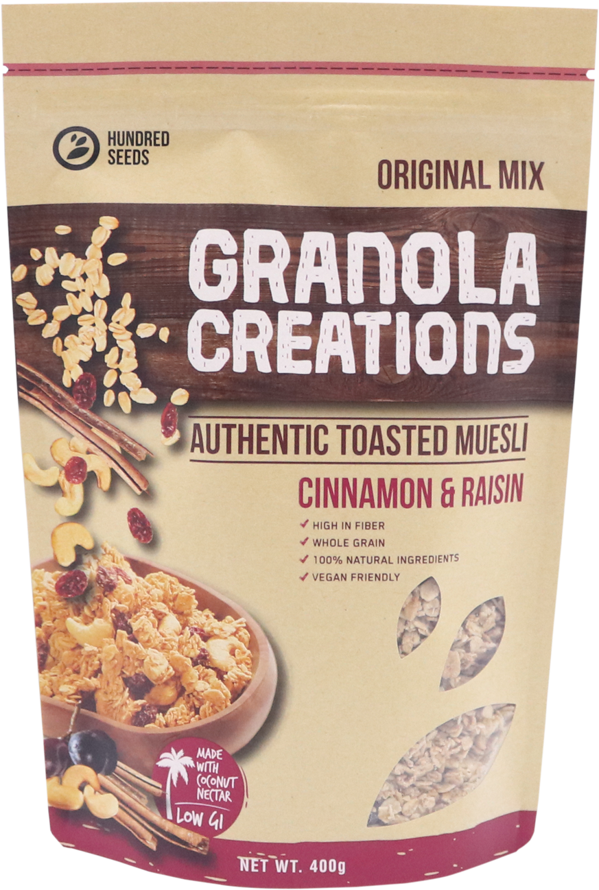 Granola Creation Cinnamon Raisin